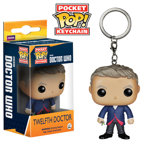 Pocket Pop! Keychain: Doctor Who - Twelfth Doctor