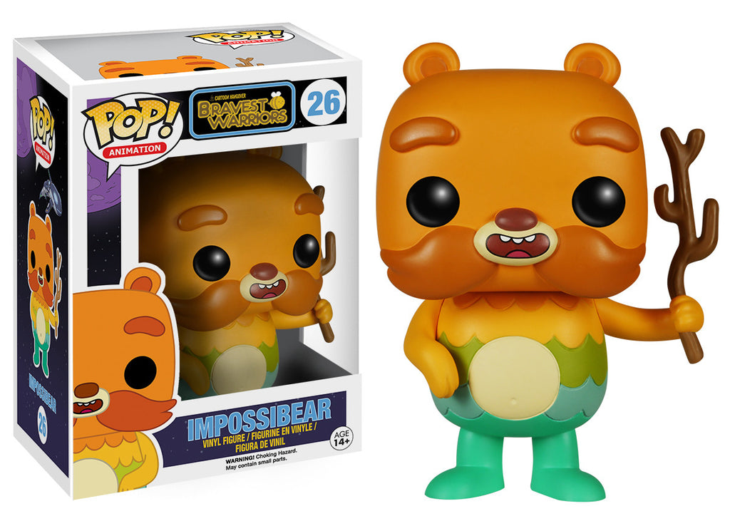 Pop Tv Bravest Warriors Impossibear Funko