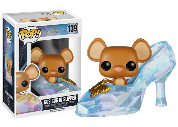 Funko Pop! Disney: Cinderella Live Action - Gus Gus in Slipper