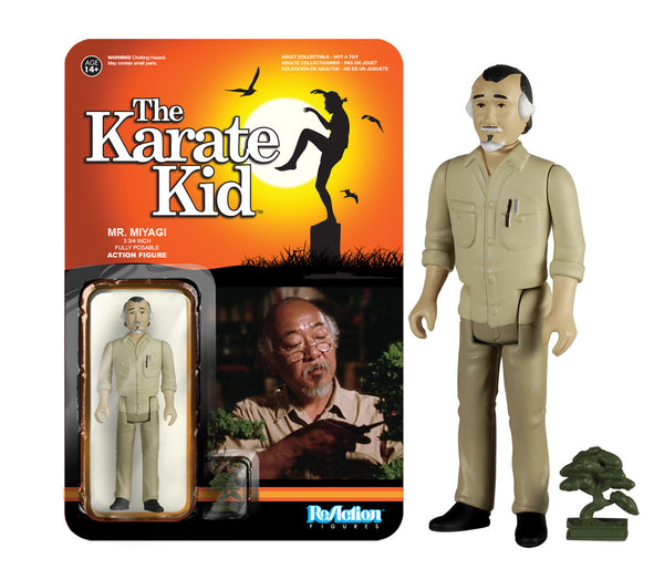 Funko ReAction: The Karate Kid - Mr. Miyagi