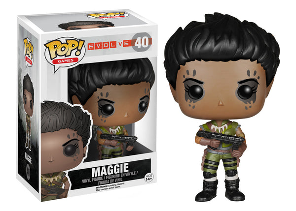 Funko Pop! Games: Evolve - Maggie