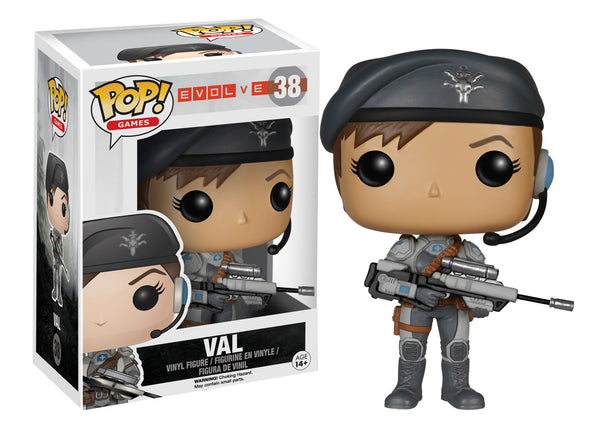 Funko Pop! Games: Evolve - Val