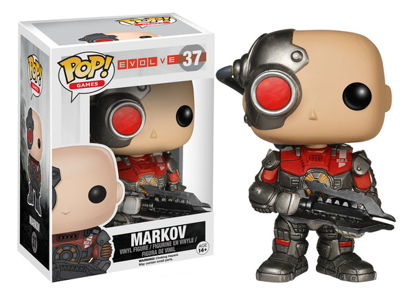 Funko Pop! Games: Evolve - Markov