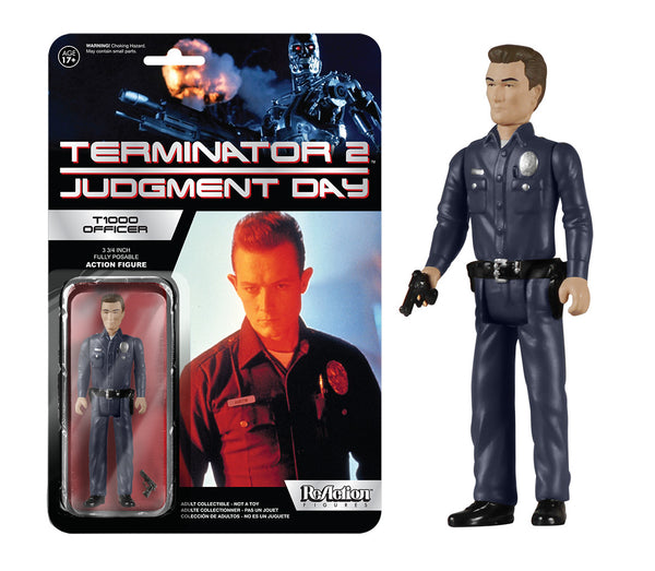 ReAction: Terminator 2 - T1000 Officer