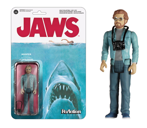 ReAction: Jaws - Hooper