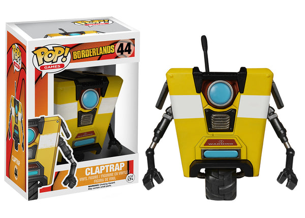 Pop! Games: Borderlands - Claptrap