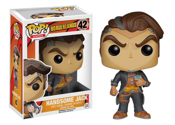 Pop! Games: Borderlands - Handsome Jack