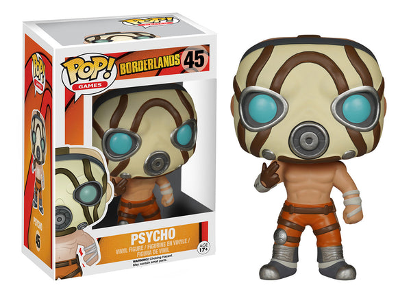 Pop! Games: Borderlands - Psycho