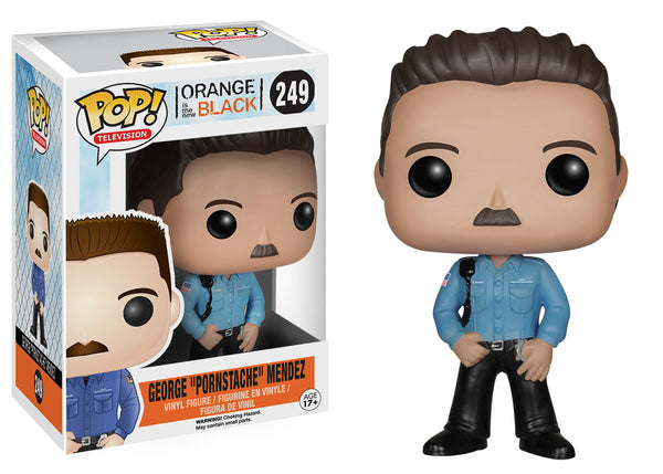 "Pop! TV: Orange is the New Black - George ""Pornstache"" Mendez"