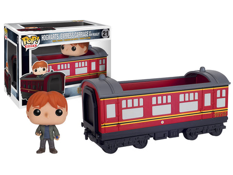 Pop! Rides: Hogwarts Express Traincar with Ron Weasley