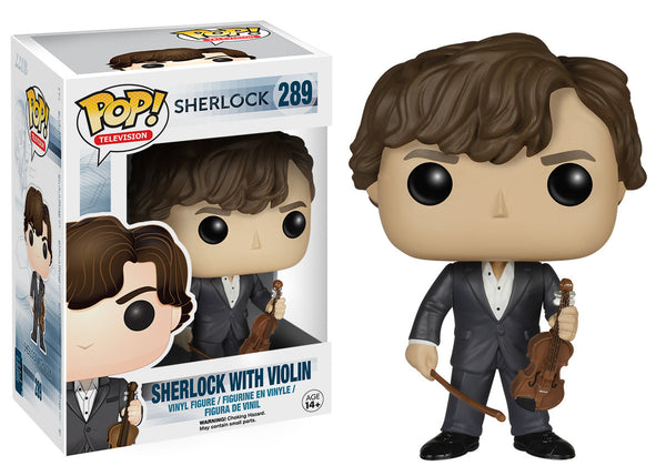 Pop! TV: Sherlock - Sherlock with Violin