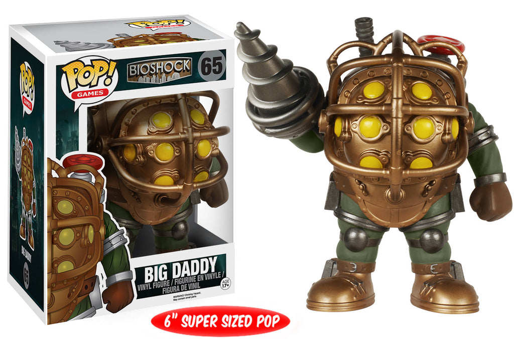 Funkie Big Daddy : pop games bioshock big daddy 6 inch funko ~ Michelbontemps.com Haus und Dekorationen