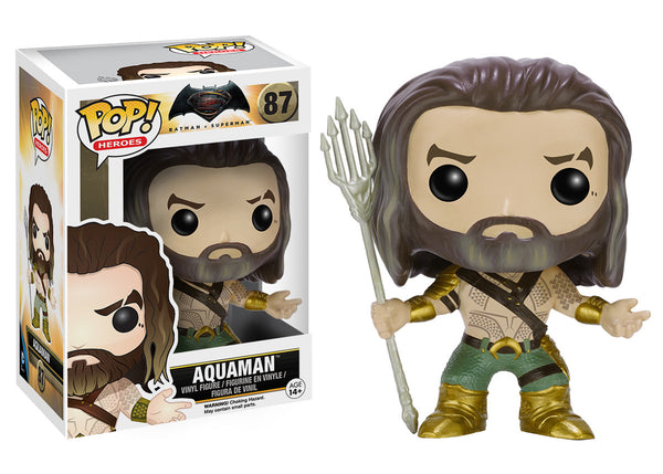Pop! Heroes: Batman VS Superman - Aquaman
