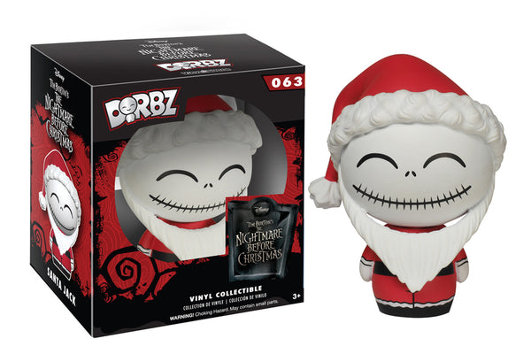 Dorbz: Nightmare Before Christmas - Santa Jack Skellington