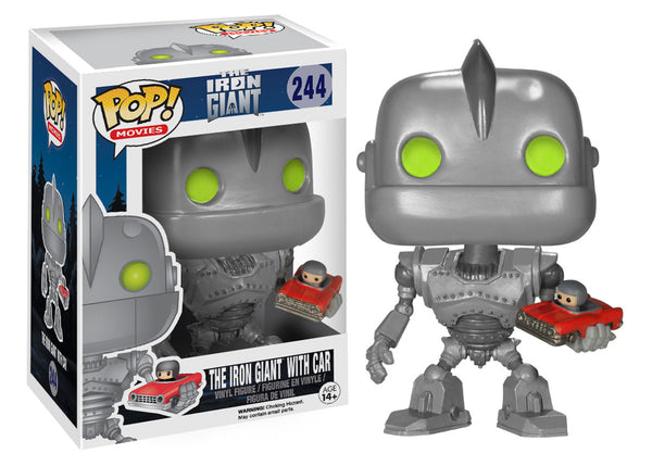 POP! Movies: Iron Giant with Car