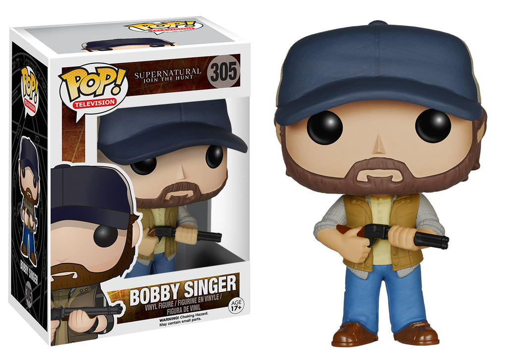 Pop Tv Supernatural Bobby Singer Funko