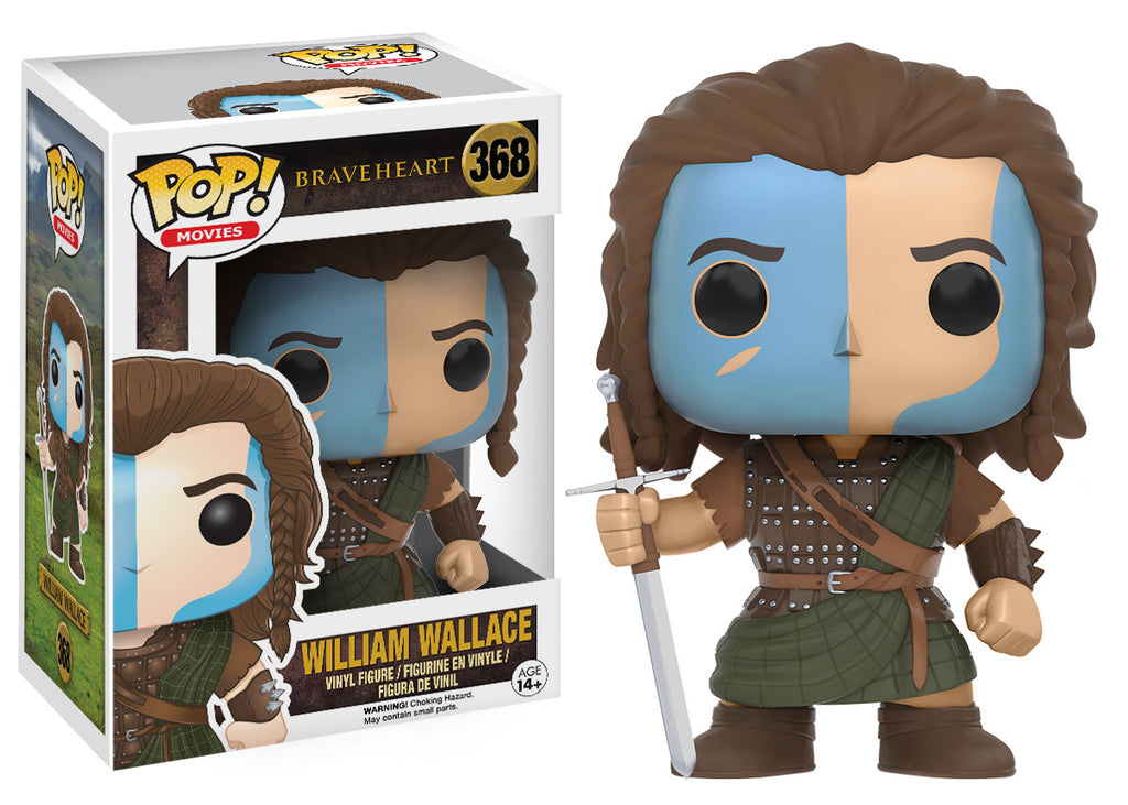 Pop Movies Braveheart William Wallace Funko