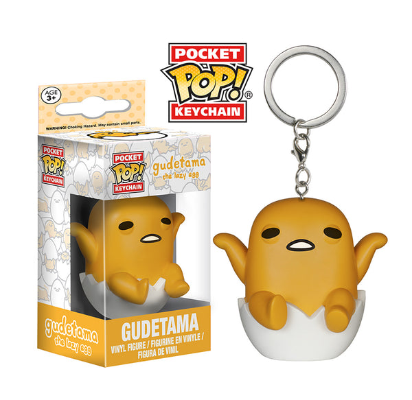 Pocket Pop! Keychain: Sanrio - Gudetama