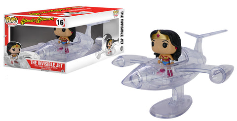 Pop! Rides: DC Comics - Wonder Woman Invisible Jet