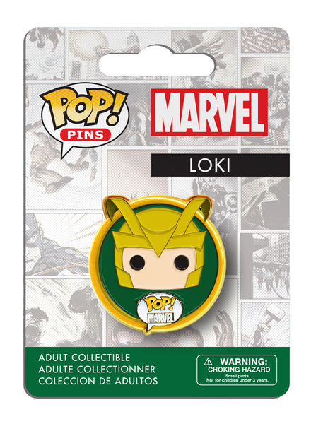 POP! Pins: Marvel - Loki