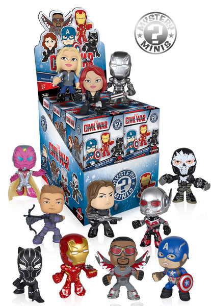 Mystery Mini Blind Box: Captain America: Civil War