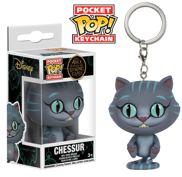 Pocket Pop! Keychain: Alice Through the Looking Glass - Chessure