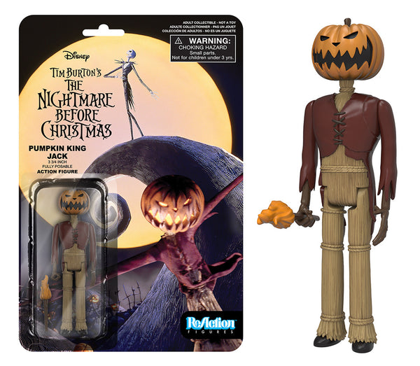 ReAction: Nightmare Before Christmas - Pumpkin King Jack