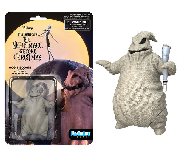 ReAction: Nightmare Before Christmas - Oogie Boogie