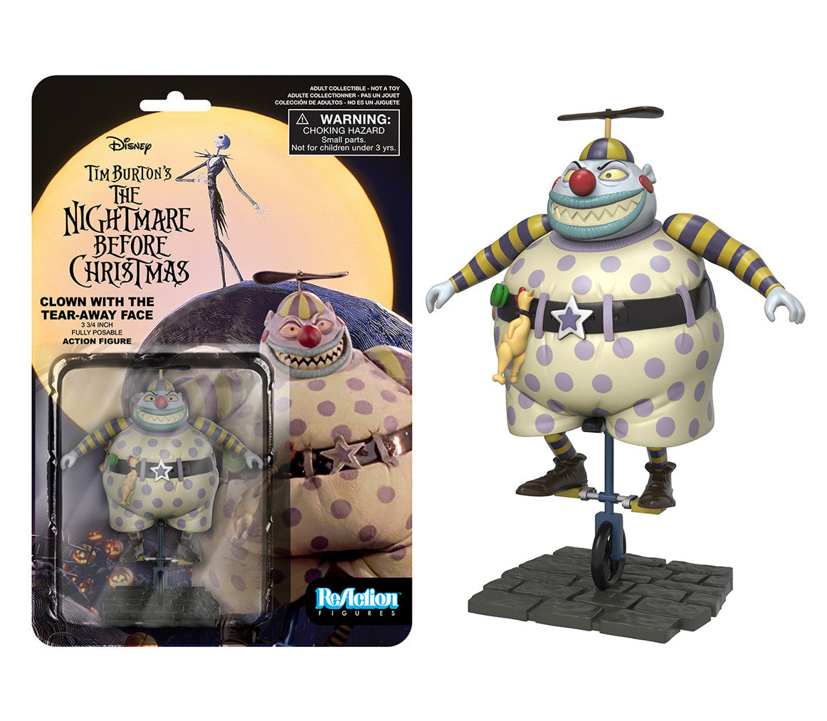 ReAction: Nightmare Before Christmas - Clown with the Tearaway Face ...