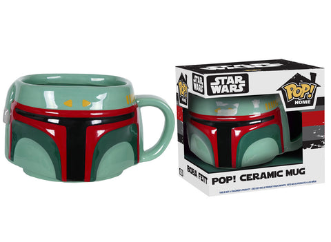 Pop! Home: Boba Fett Pop! Ceramic Mug