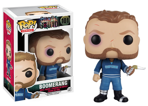 Pop! Heroes: Suicide Squad - Boomerang