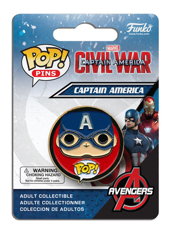Pop! Pins: Captain America: Civil War - Captain America