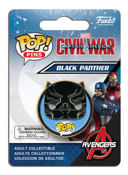 Pop! Pins: Captain America: Civil War - Black Panther