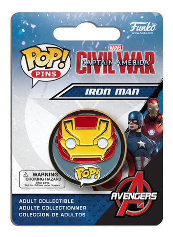 Pop! Pins: Captain America: Civil War - Iron Man