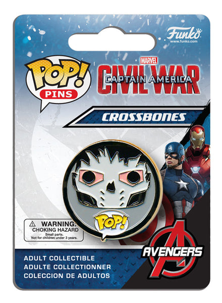 Pop! Pins: Captain America: Civil War - Crossbones