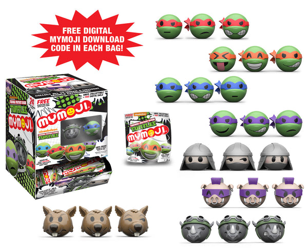 MYMOJI: Teenage Mutant Ninja Turtles Blind Box