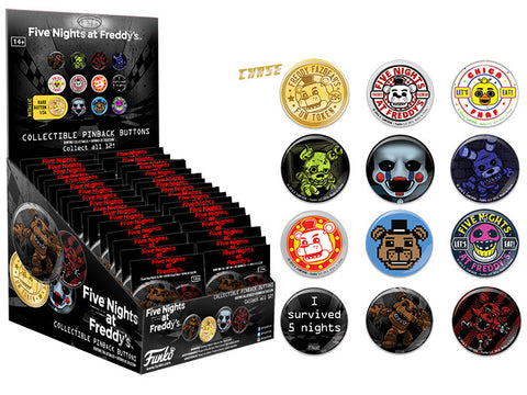 Pop! Buttons Blind Bag: Five Nights at Freddy's