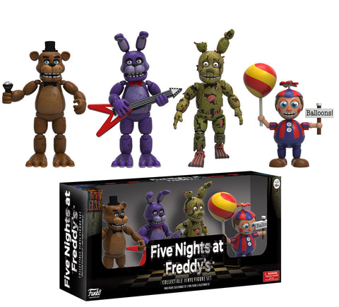 "Five Nights at Freddy's: Four Pack 2"" Figures - Pack 2"