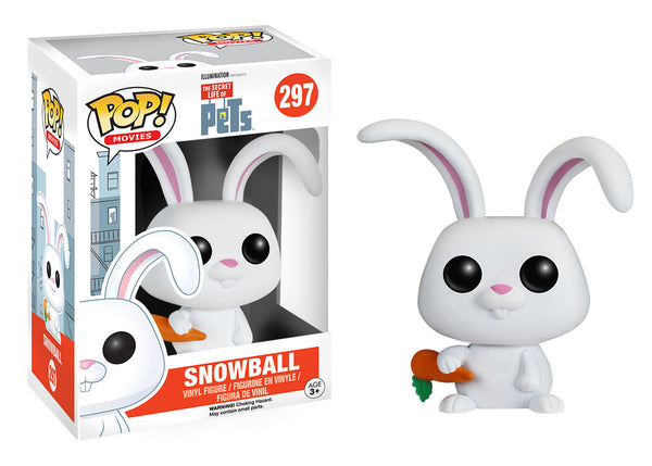 Pop! Movies: The Secret Life of Pets - Snowball