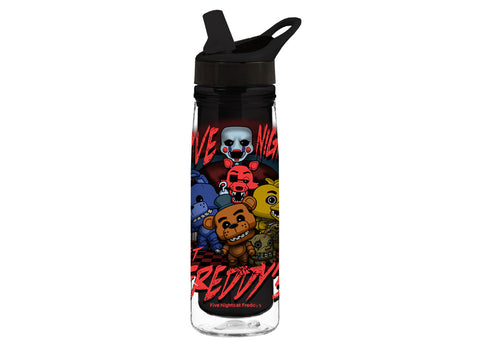Five Nights at Freddy's: Acrylic Water Bottle - Five Nights at Freddy's Group