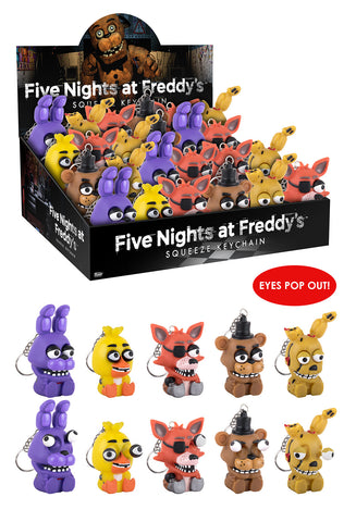 Squeez Keychain: Five Nights At Freddy's