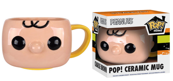 Pop! Home: Charlie Brown Pop! Ceramic Mug
