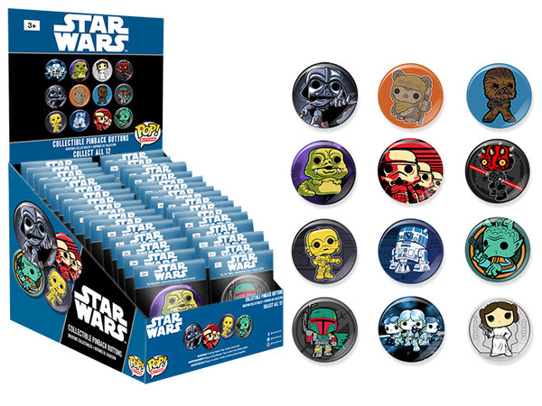 Pop! Buttons: Classic Star Wars