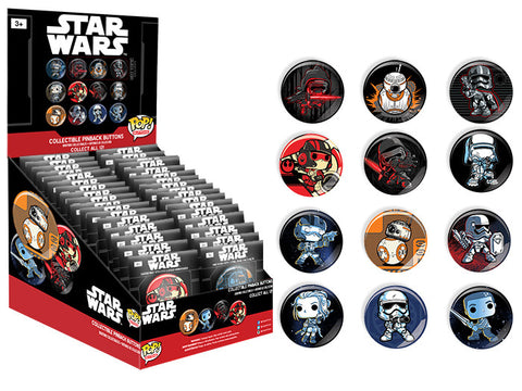 Pop! Buttons: Star Wars Episode 7