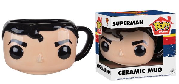 Pop! Home: DC - Superman Pop! Ceramic Mug