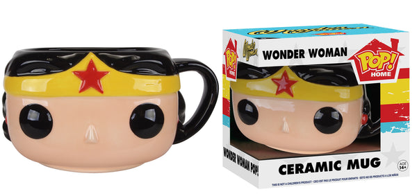 Pop! Home: DC - Wonder Woman Pop! Ceramic Mug