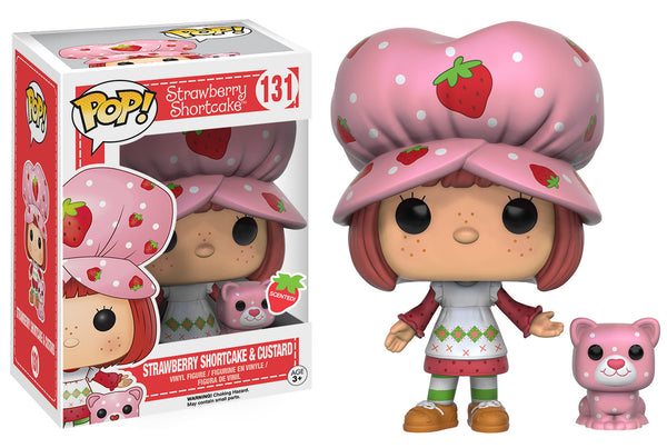 Pop! Animation: Strawberry Shortcake - Strawberry Shortcake & Custard