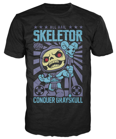 Pop! Tees: Masters of the Universe - Hail Skeletor Poster