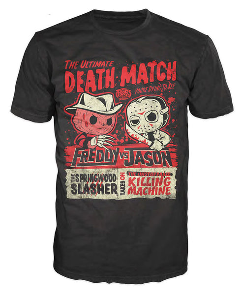 Pop! Tees: Horror - Freddy vs. Jason