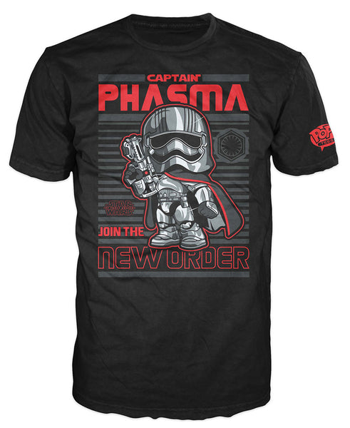 Pop! Tees: Star Wars - Captain Phasma Poster